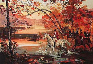Hunt Crossing 1989 Limited Edition Print by Mark King