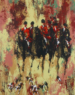 Fox Hunt  Limited Edition Print by Mark King