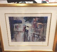 Rainy Day 1994 Limited Edition Print by Mark King - 1