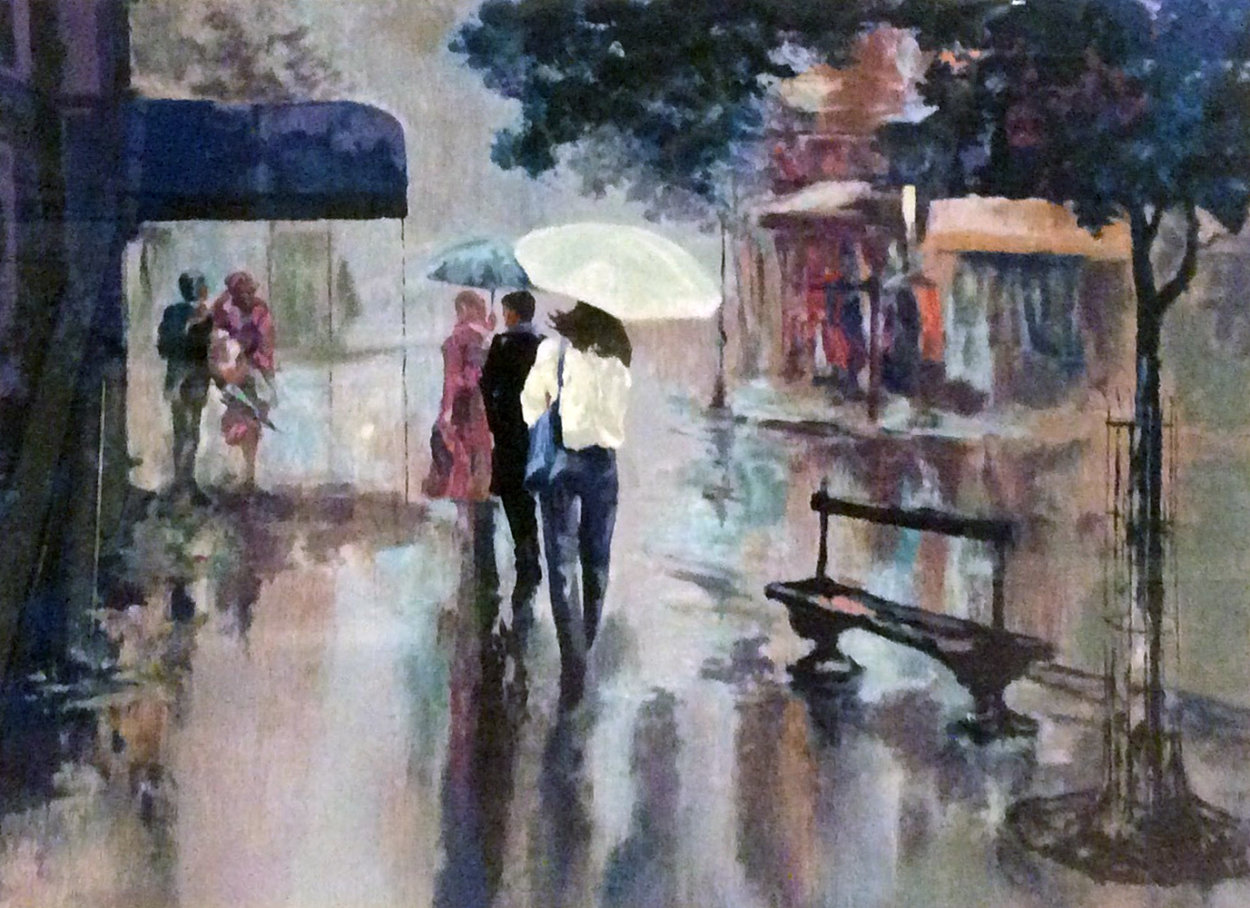Rainy Day 1994 Limited Edition Print by Mark King