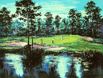Pineland Plantation 1989 Limited Edition Print by Mark King