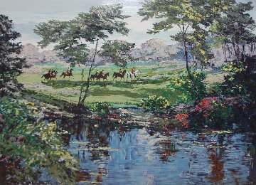 Morning Hunt (Equestrian) 1990 Limited Edition Print by Mark King