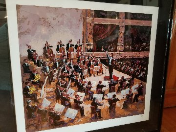 Orchestra 1987 Limited Edition Print - Mark King