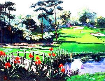 Golf Landscape 1990 Limited Edition Print - Mark King