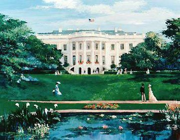 White House 1993 Limited Edition Print by Mark King