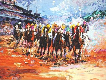 Kentucky Derby PP 1990  Huge Limited Edition Print - Mark King
