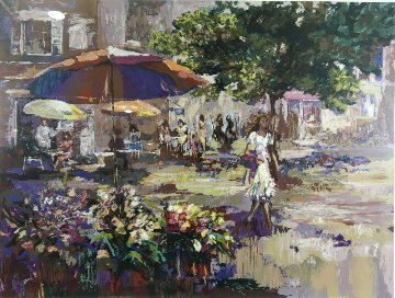La Parasol Limited Edition Print by Mark King