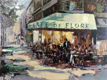 Cafe De Flore 1989 Limited Edition Print - Mark King