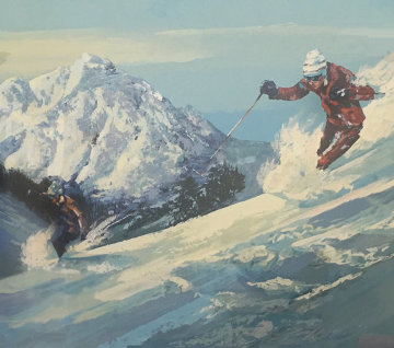 High Powder Limited Edition Print - Mark King