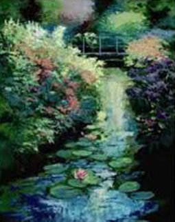Flower Bank  Limited Edition Print - Mark King