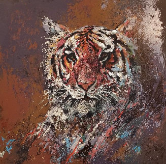 Tiger Limited Edition Print by Mark King