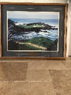 Fifteenth At Cypress Point 1994 Limited Edition Print by Mark King - 1
