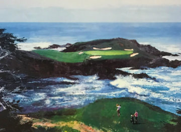 Fifteenth At Cypress Point 1994 Limited Edition Print by Mark King