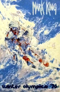 Winter Olympics PP 1976 Limited Edition Print by Mark King