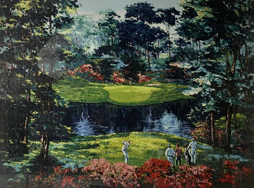 Untitled (Golf Course Landscape) Limited Edition Print by Mark King