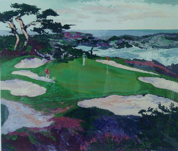 Cypress Point 1988 Limited Edition Print - Mark King
