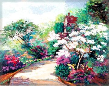 Spring Magnolia Blossom 1990 Limited Edition Print - Mark King