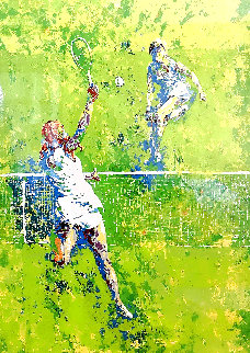 Tennis Players Limited Edition Print - Mark King