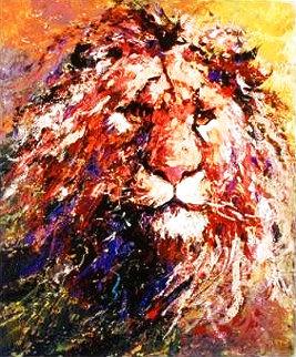 Lion Head AP 2009 Limited Edition Print - Mark King