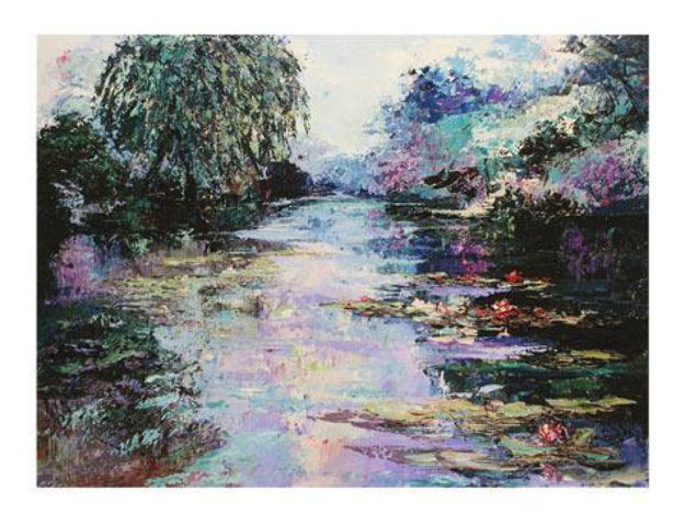 Willow Pond 2009 Limited Edition Print by Mark King