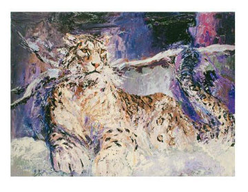 Snow  Leopard 2009 Limited Edition Print by Mark King