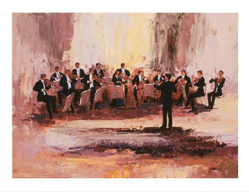 Concert Ensemble 2009 Limited Edition Print by Mark King