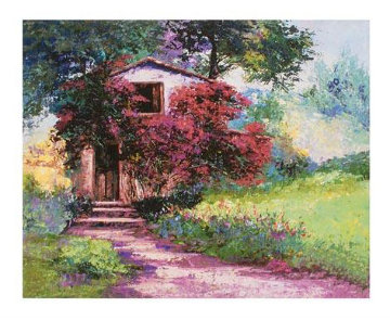 Tuscan Farm House 2009 Limited Edition Print by Mark King