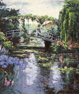 Giverny AP 1987 Limited Edition Print by Mark King