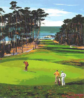 Spyglass Hill 1987 Limited Edition Print - Mark King
