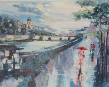 Pont Des Arts Limited Edition Print by Mark King