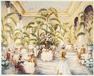 Palm Court 2000 Limited Edition Print by Mark King