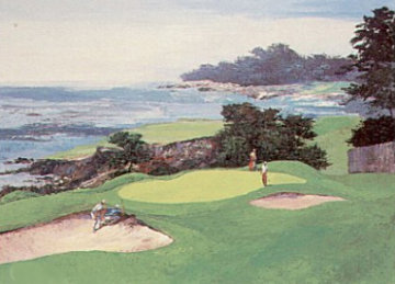 Seaside Green 1990 Limited Edition Print by Mark King