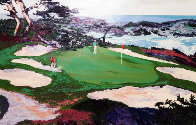 Cypress Point #15 1988 Limited Edition Print by Mark King - 0