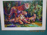 Bengal Family AP 1970 Limited Edition Print by Mark King - 1