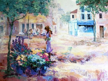 Au Clarion 1983 44x56 Huge Original Painting - Mark King