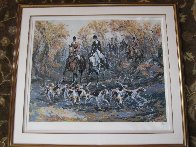 Autumn Hunt 1991 Limited Edition Print by Mark King - 1