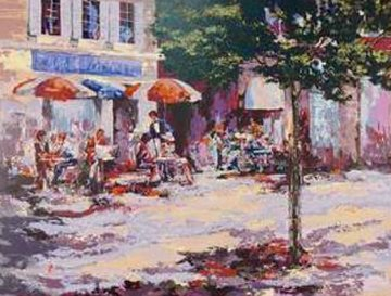 St. Tropez  2000 36x46 Huge  Limited Edition Print - Mark King