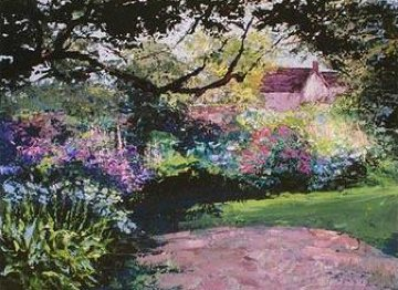 Garden Corner 2009 Limited Edition Print by Mark King
