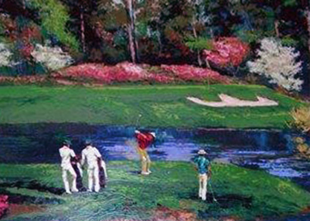 Desoto Springs Pond Pond of Augusta   13 Th Hole Limited Edition Print by Mark King