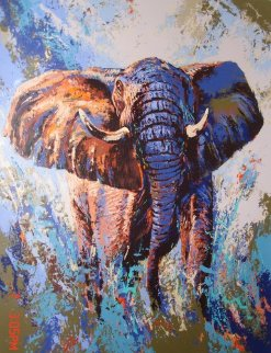Tembo 1997 Limited Edition Print - Mark King