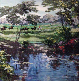 Morning Hunt (Equestrian) 1989 Limited Edition Print by Mark King