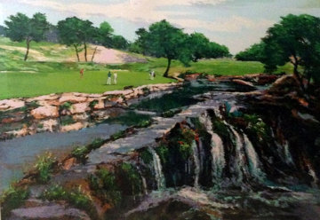 Hills of Lakeway, Austin Texas (Golf) 1991 Limited Edition Print by Mark King