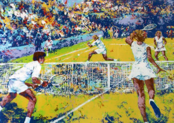 Tennis Player Limited Edition Print by Mark King