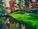 Augusta 12 in Fall (Golf Series III) 1991 Limited Edition Print by Mark King - 0