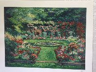 Summer Rose Garden 1990 Limited Edition Print by Mark King - 1