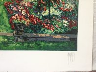 Summer Rose Garden 1990 Limited Edition Print by Mark King - 2