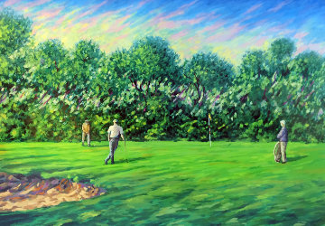 Untitled Golf AP 1995 Limited Edition Print by Mark King