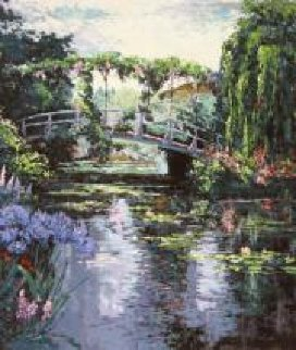Giverny 1987 Limited Edition Print - Mark King