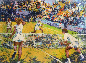 Mixed Doubles  Limited Edition Print - Mark King