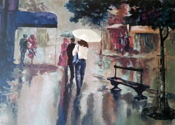 Rainy Day - Reflections 1990 Limited Edition Print by Mark King